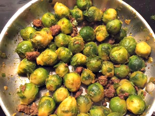 Curtis Stone's Pan-Roasted Brussels Sprouts with Chorizo » I'd ...