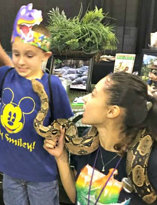 Harley & The Too Friendly Snake 4